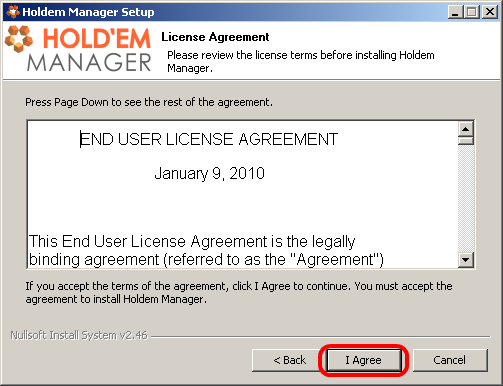 Holdem manager 2 can't connect to postgresql